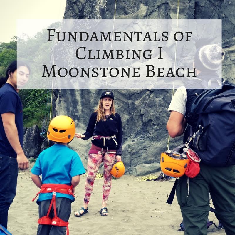 Fundamentals of Climbing I – Moonstone Beach