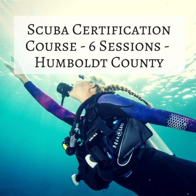 1 – Certification: Scuba Diving Course – Humboldt (6 Sessions)