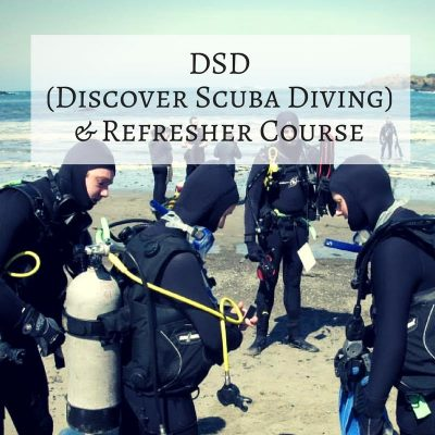 DSD (Discover Scuba Diving) & Refresher Course