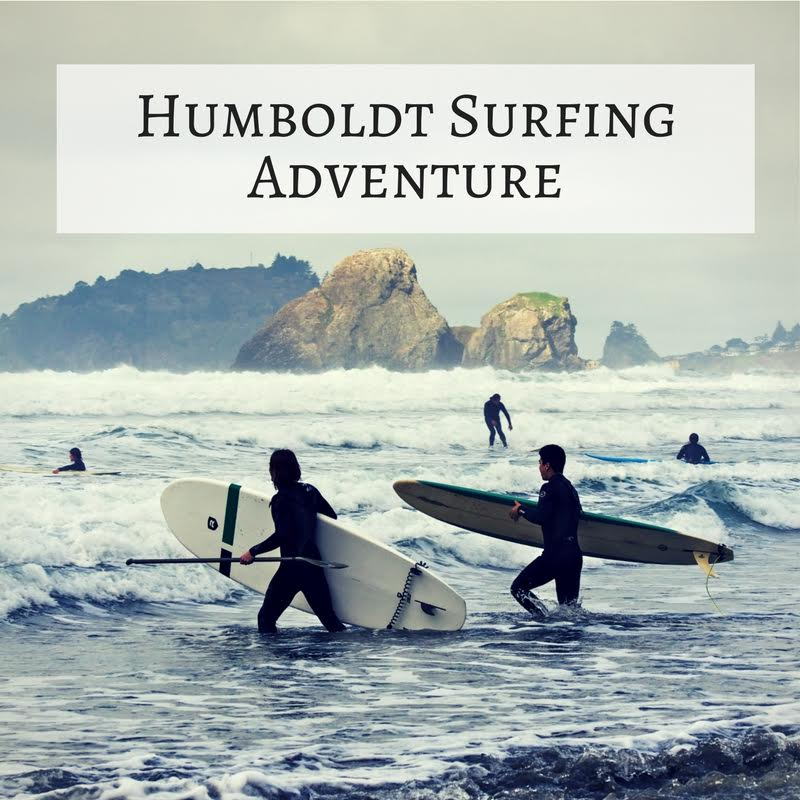 Adventure: Surfing – Humboldt (4 Hours)