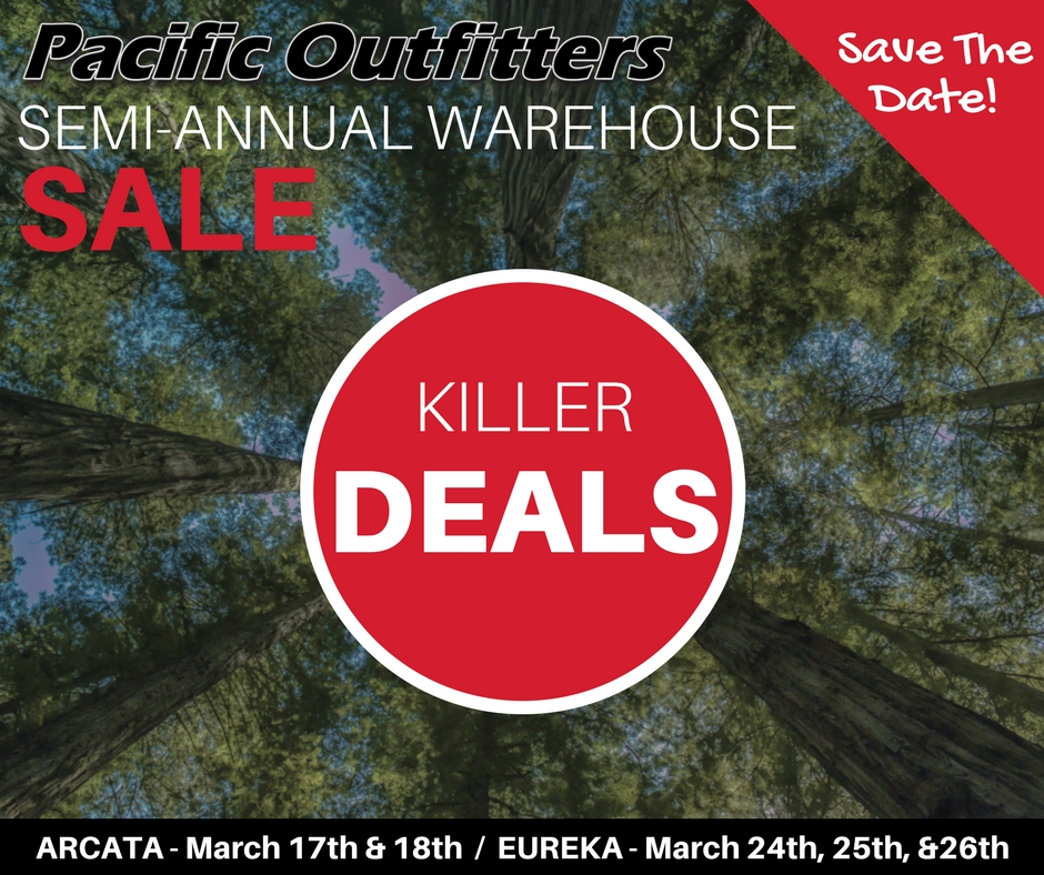 2017 Spring Warehouse Sale - Pacific Outfitters