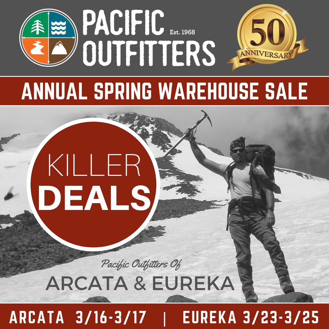 SPRING WAREHOUSE SALE - PACIFIC OUTFITTERS