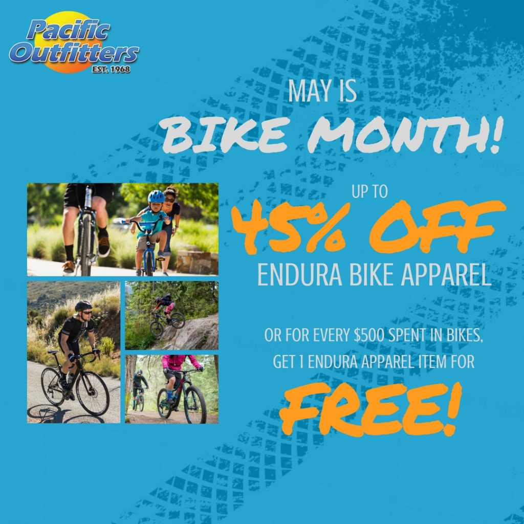 2017 May Bike Month - Pacific Outfitters