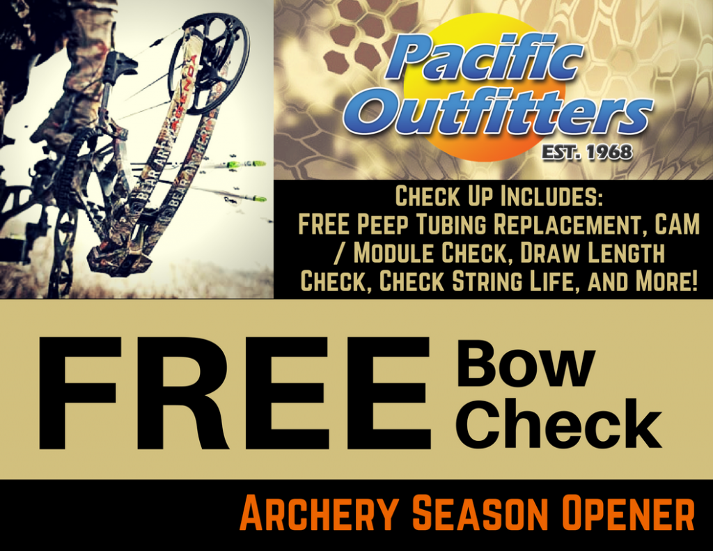 Archery Season Opener - Pacific Outfitters