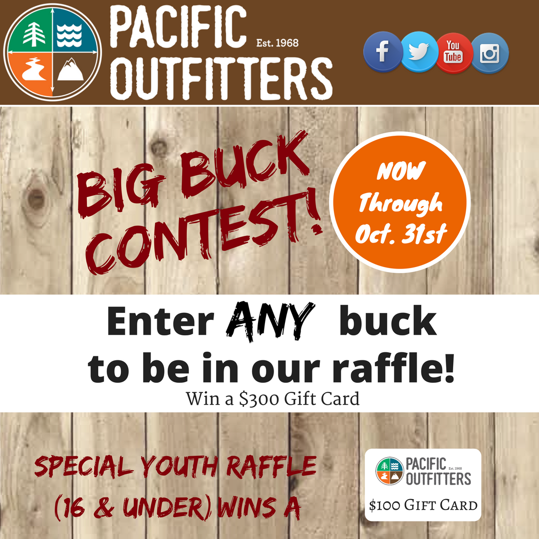 Big Buck Contest - Pacific Outfitters