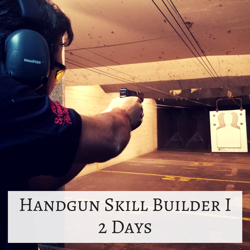 Handgun Skill Builder I – 2 Days