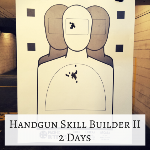 Handgun Skill Builder II - pacific outfitters