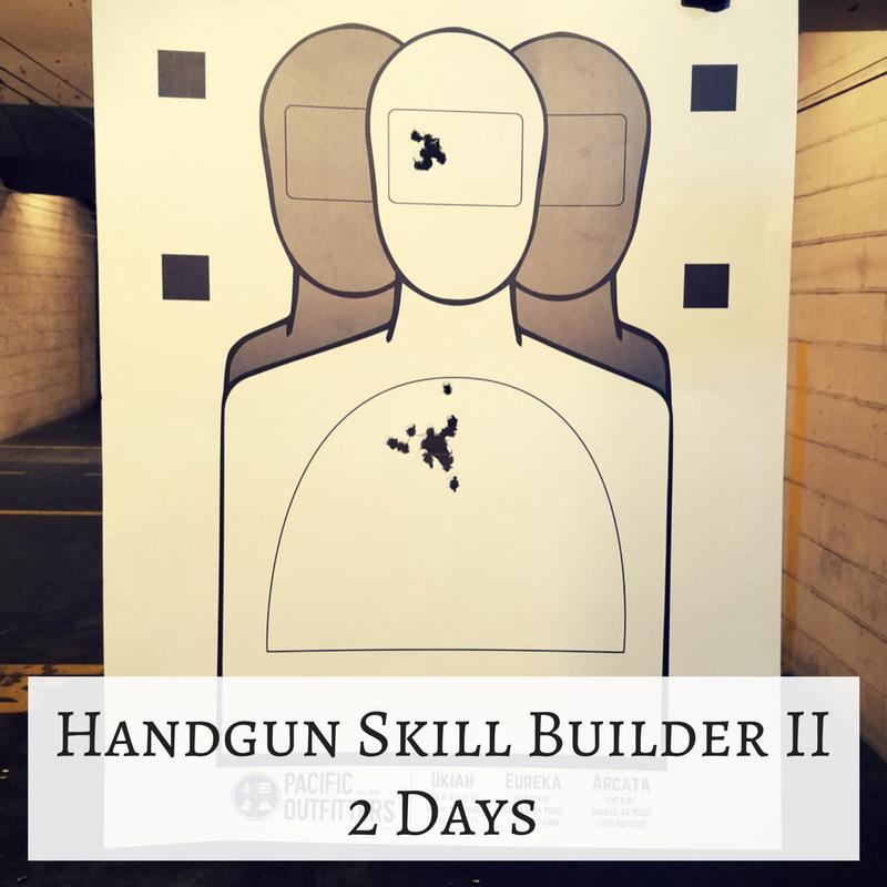 Handgun Skill Builder II – 2 Days