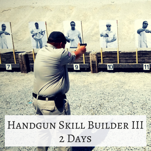 Handgun Skill Builder III - pacific outfitters