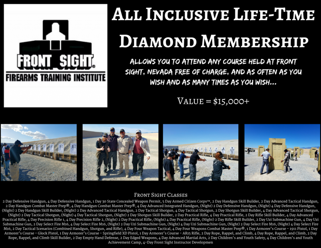 All Inclusive Life-Time Diamond Membership