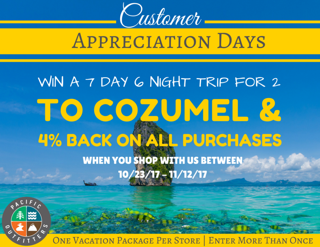 Customer Appreciation Days Cozumel - Pacific Outfitters