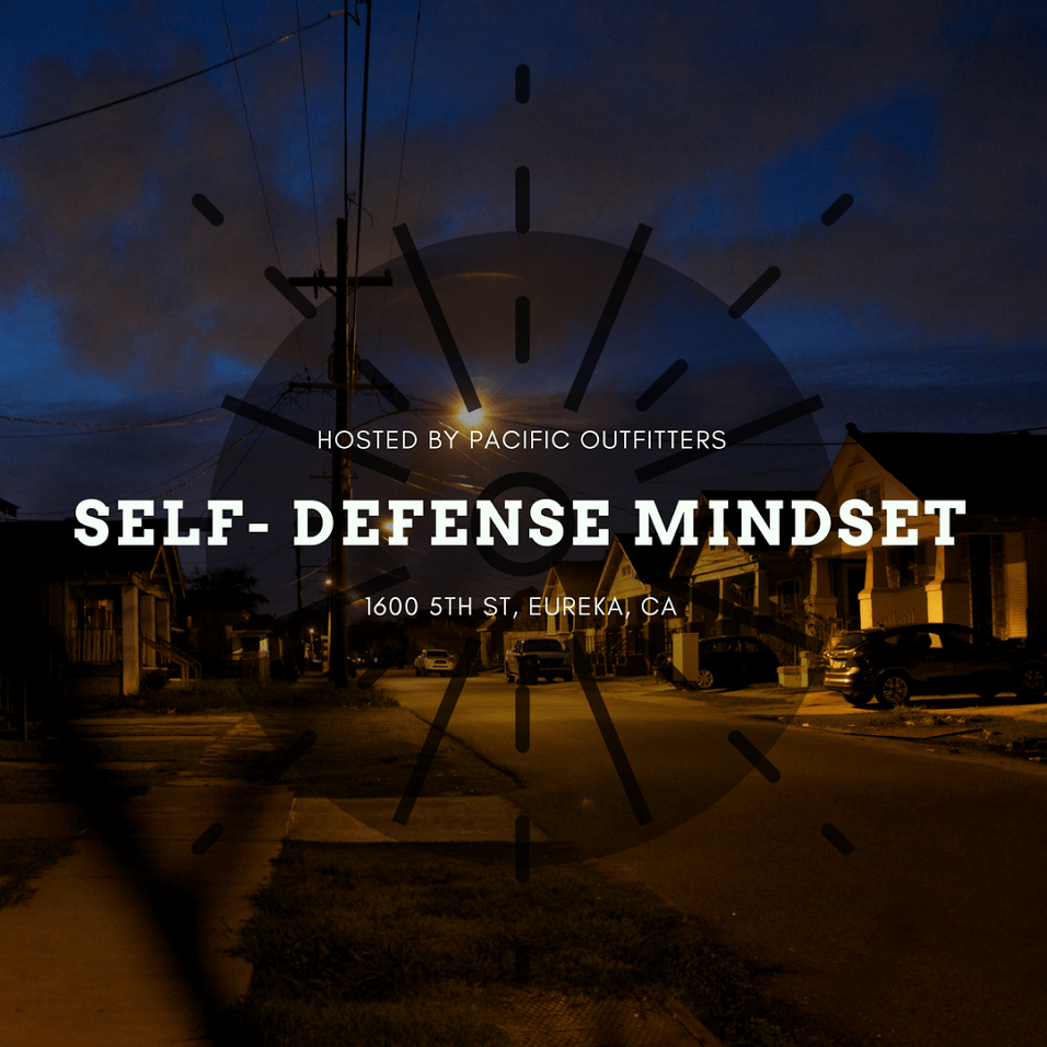 Self-Defense Mindset Course – 3 Hours