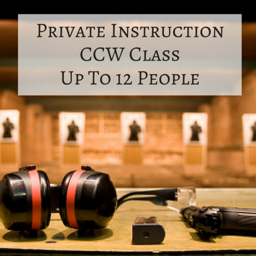 Private Instruction CCW - Pacific Outfitters