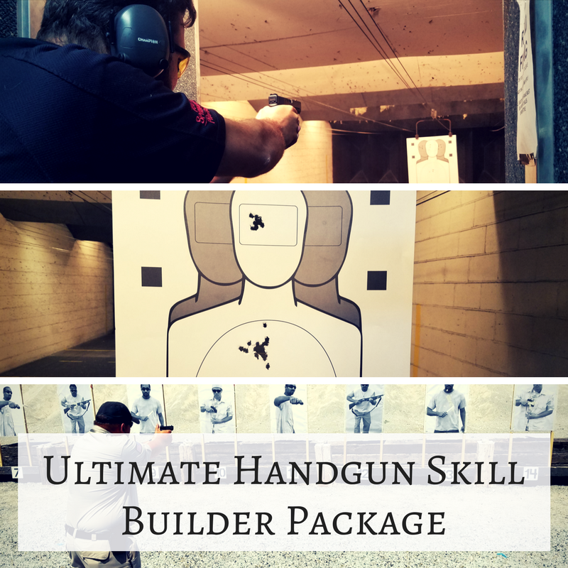 Ultimate Handgun Skill Builder Package – All 3 Classes