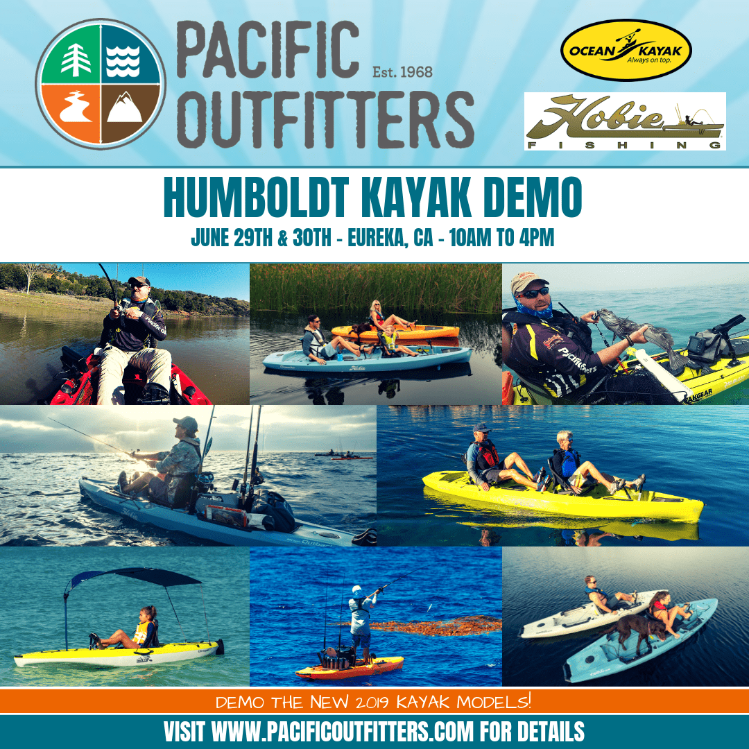 Pacific Outfitters - Paddle Kayak Demo