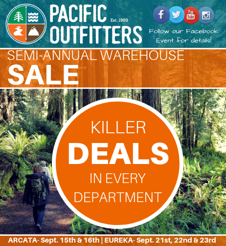 Fall Warehouse Sale - Pacific Outfitters