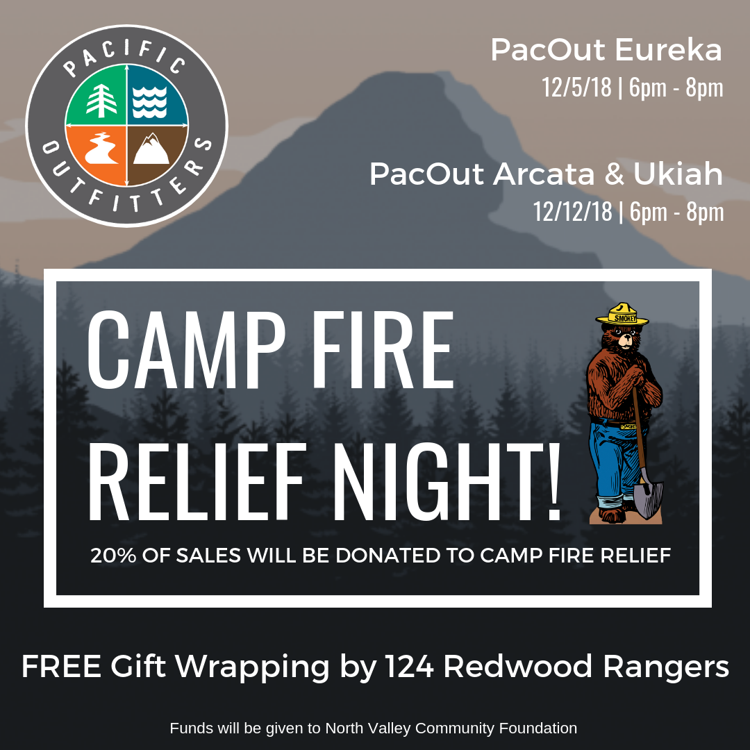 Camp Fire Relief Night - Pacific Outfitters
