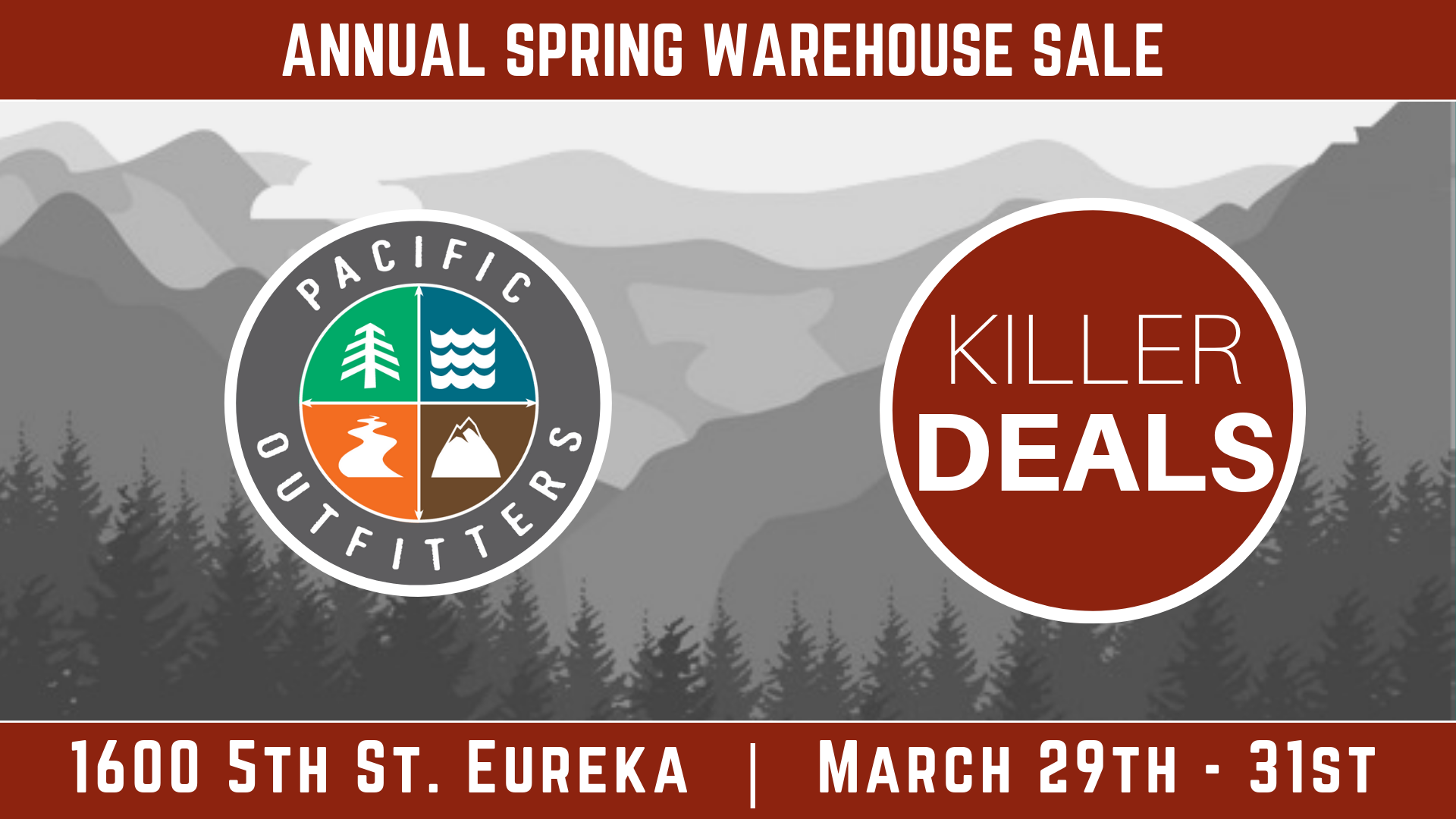 Spring 2019 Warehouse Sale Pacific Outfitters