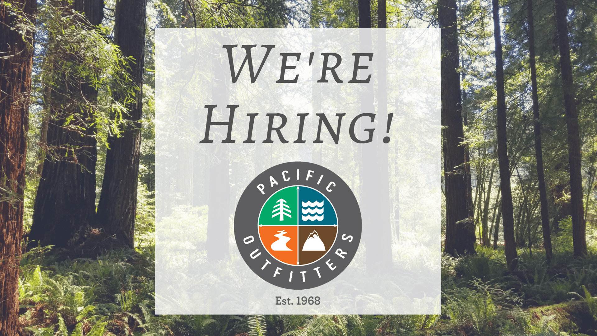Pacific Outfitters Hiring - Employment