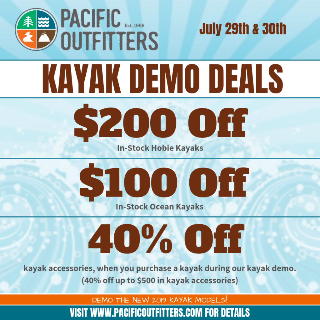 2019 Paddle Expo Humboldt Deals - Pacific Outfitters