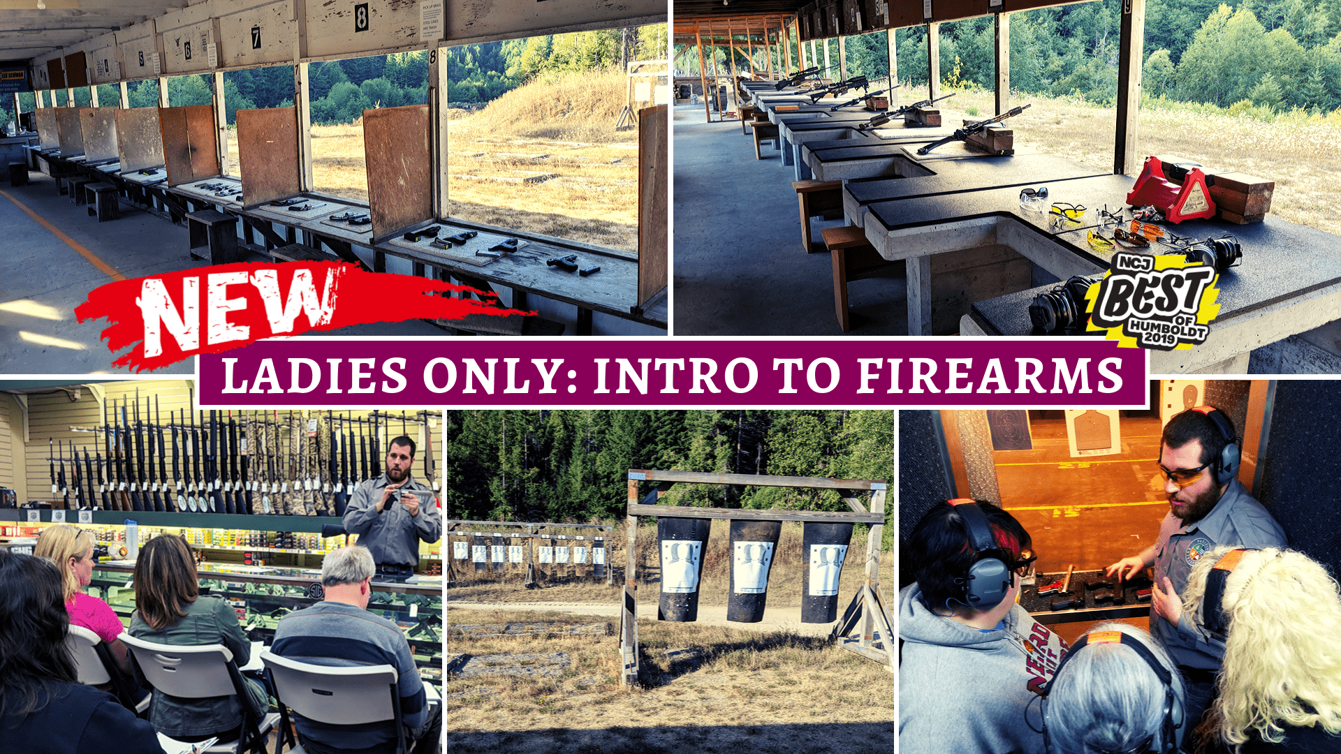 LADIES ONLY INTRO TO FIREARMS - PACIFIC OUTFITTERS